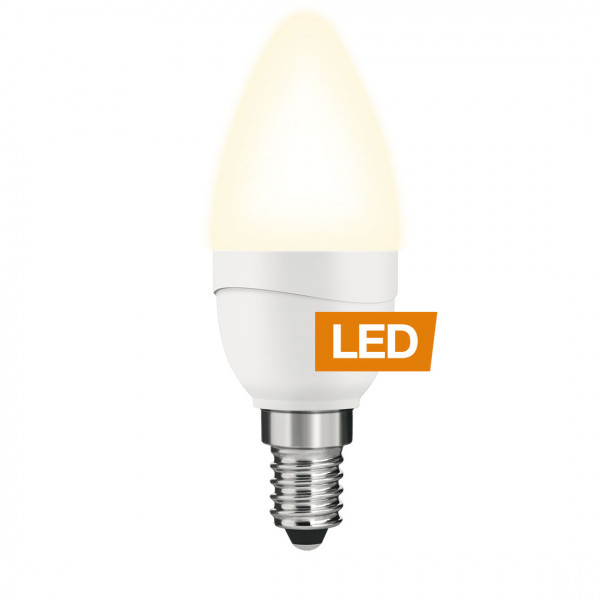 LEDON LED Kerze, B35, 5W, E14, nicht dimmbar