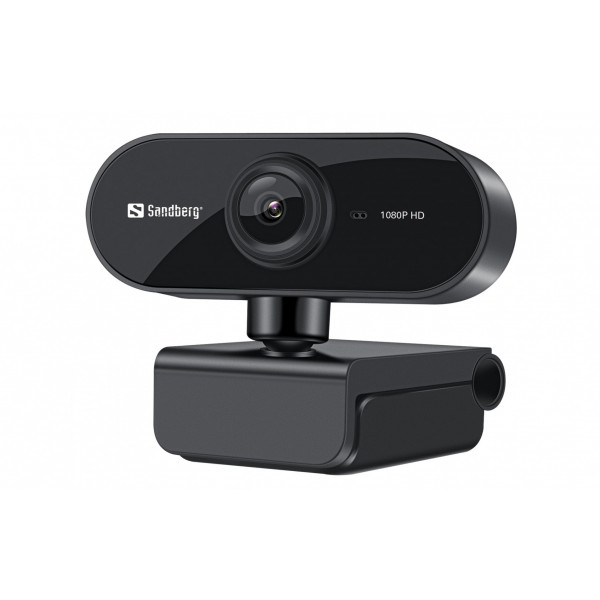 Sandberg Flex USB Webcam 1080P 30 fps