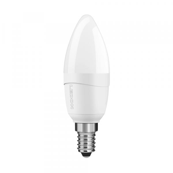 LEDON LED Lampe: Kerze, B35, 5W, matt