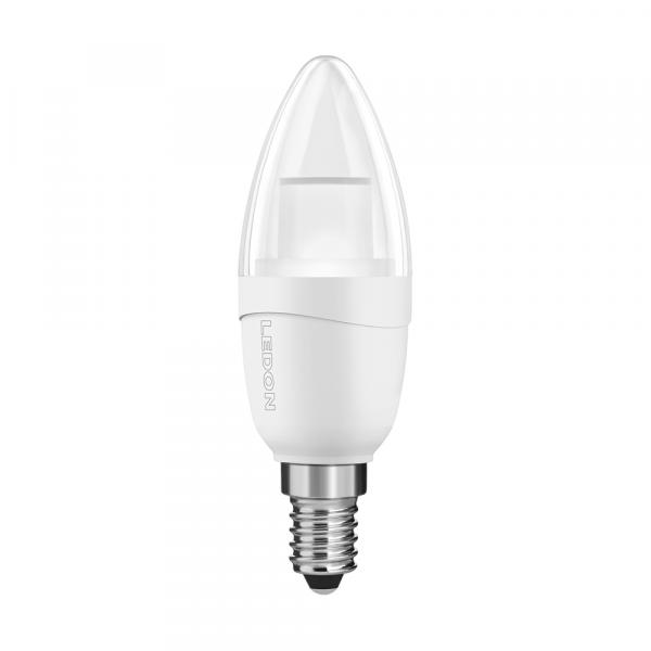 LEDON LED Lampe: Kerze, B35, 5W, Kerzenlicht