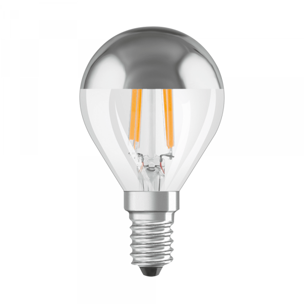 Osram LED Retrofit Classic P Mirror Filament, 4W