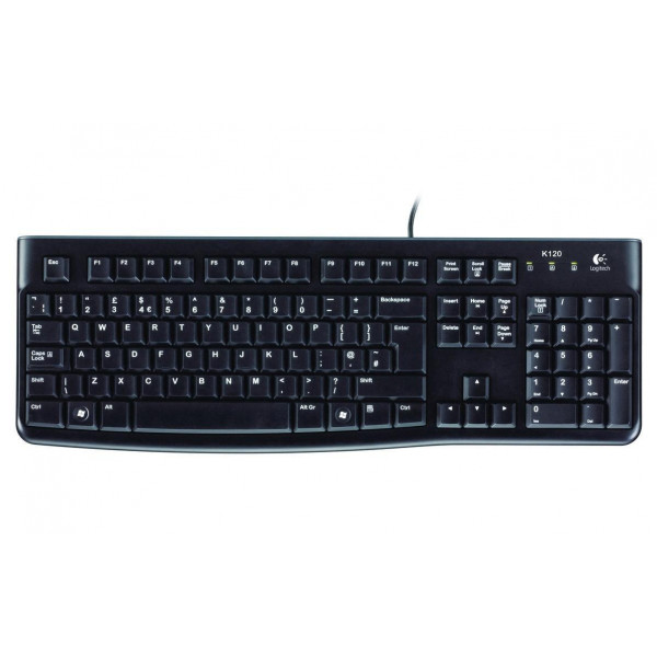 Logitech Tastatur K120 Business CH-Layout