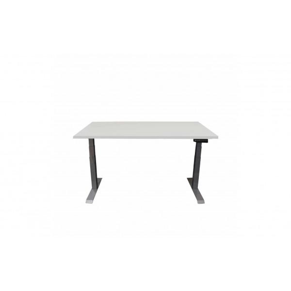 Contini Tisch RAL 7045 2 x 0.9 m mit Tischplatte Grau