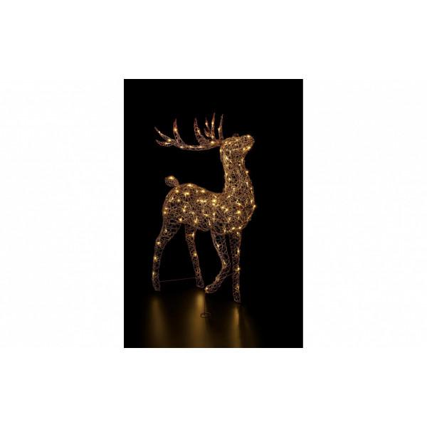 LED-Figur Finn 140 cm Rentier