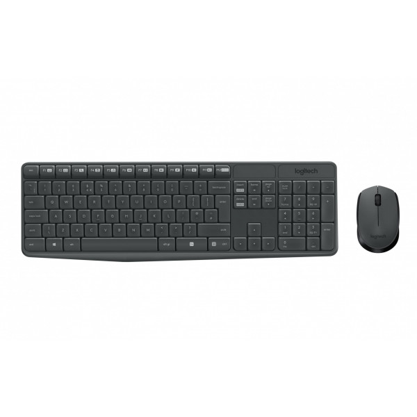 Logitech Tastatur-Maus-Set MK235