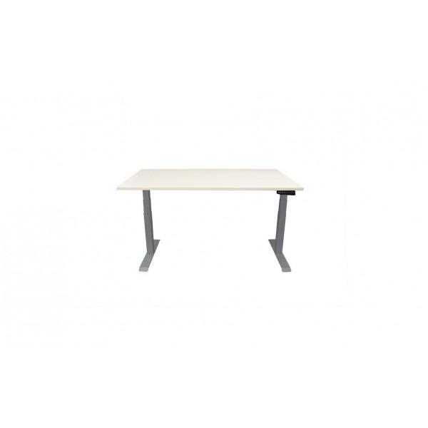 Contini Tisch RAL 7045 1.6 x 0.8 m Hellgrau mit grauer Tischplatte