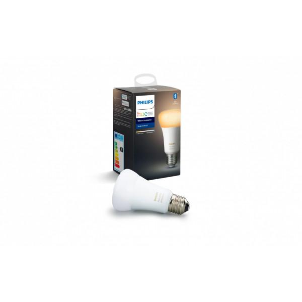 Philips Hue Leuchtmittel White Ambiance, 8.5 W, E27, BT