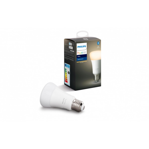 Philips Hue Leuchtmittel White, 9.5 W, E27, BT
